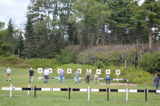 Long Lake High Numbered Targets